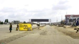 Blank Digital LED at Oshodi Lagos
