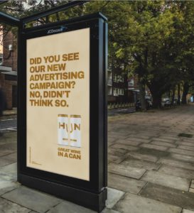 An engaging Digital OOH communication